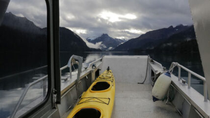 Alan's Water Taxi services in Kachemak Bay Homer, Alaska